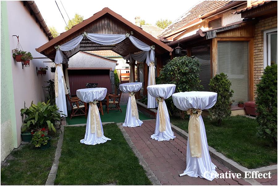 Dekoracije svadbi i proslava Creative Effect Zrenjanin